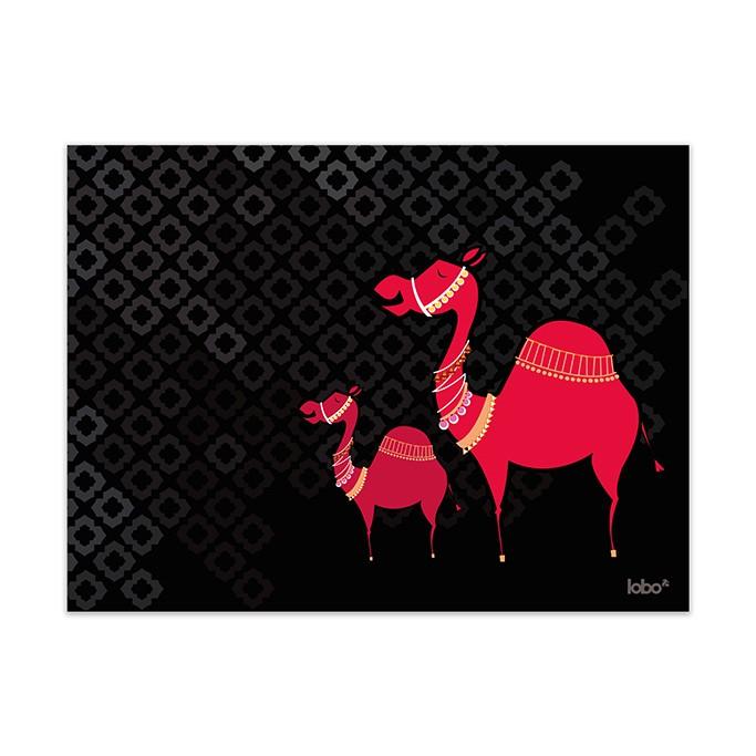 Camel Maze Wall Art